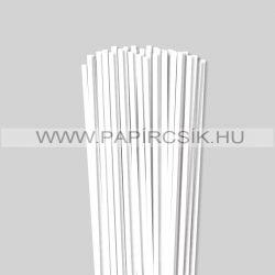 Hârtie quilling, Alb pur, 5 mm. (100 buc., 49 cm)