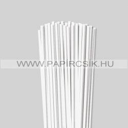 Hârtie quilling, Alb perlat, 5mm. (100 buc., 49cm)