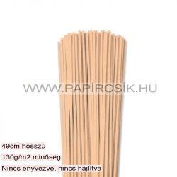 Hârtie quilling, Culoare pielii/ Caise, 3mm. (120 buc., 49cm)