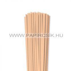 Hârtie quilling, Culoare pielii/ Caise, 4mm. (110 buc., 49cm)
