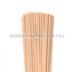 Hârtie quilling, Culoare pielii/ Caise, 5mm. (100 buc., 49cm)