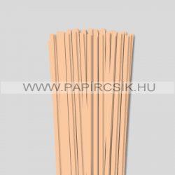 Hârtie quilling, Culoare pielii/ Caise, 6mm. (90 buc., 49cm)