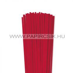 Hârtie quilling, Roșu vibrant, 5mm. (100 buc., 49cm)