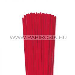Hârtie quilling, Roșu, 5mm. (100 buc., 49cm)