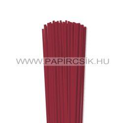 Hârtie quilling, Roșu închis, 4mm. (110 buc., 49cm)