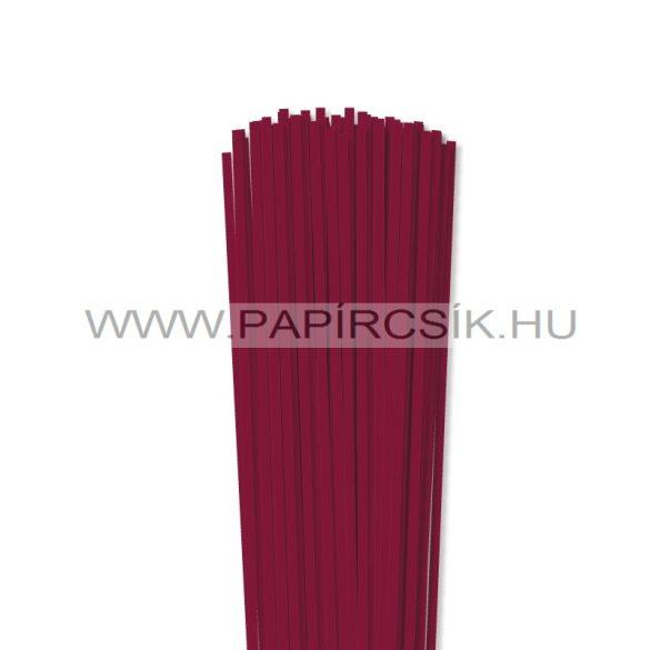 Hârtie quilling, Bordo (culoarea vinului), 4mm. (110 buc., 49cm)