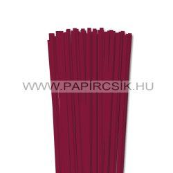 Hârtie quilling, Bordo (culoarea vinului), 6mm. (90 buc., 49cm)