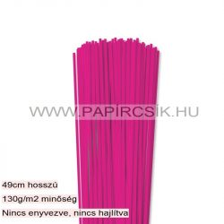 Hârtie quilling, Pink, 3mm. (120 buc., 49cm)