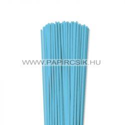 Hârtie quilling, Albastru cerulian, 3mm. (120 buc., 49cm)
