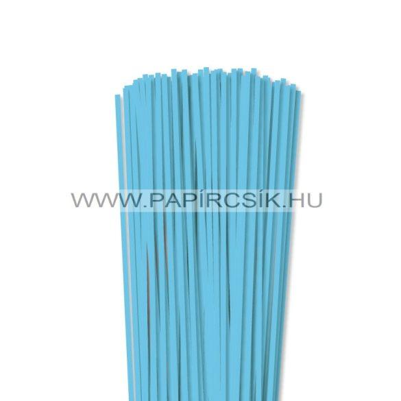 Hârtie quilling, Albastru cerulian, 4mm. (110 buc., 49cm)