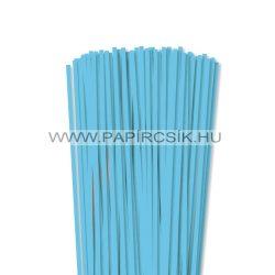 Hârtie quilling, Albastru cerulian, 5mm. (100 buc., 49cm)