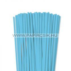 Hârtie quilling, Albastru cerulian, 6mm. (90 buc., 49cm)