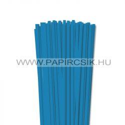 Hârtie quilling, Bleu, 6mm. (90 buc., 49cm)