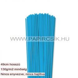 Hârtie quilling, Bleu deschis, 3mm. (120 buc., 49cm)