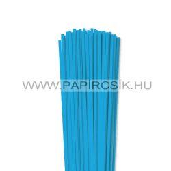 Hârtie quilling, Bleu deschis, 4mm. (110 buc., 49cm)