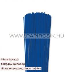 Hârtie quilling, Bleumarin, 3mm. (120 buc., 49cm)