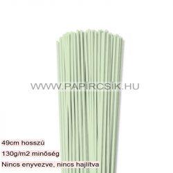 Hârtie quilling, Verde pal, 3mm. (120 buc., 49cm)