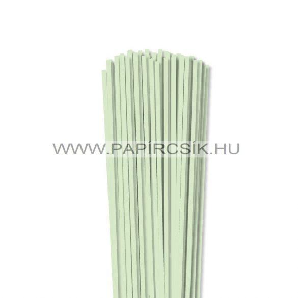 Hârtie quilling, Verde pal, 4mm. (110 buc., 49cm)