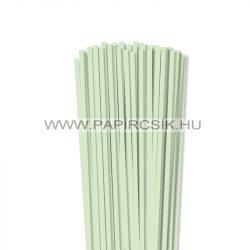 Hârtie quilling, Verde pal, 5mm. (100 buc., 49cm)