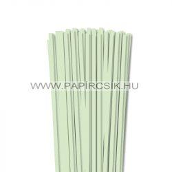 Hârtie quilling, Verde pal, 6mm. (90 buc., 49cm)