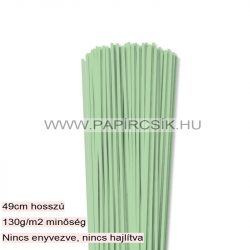 Hârtie quilling, Verde mediu, 3mm. (120 buc., 49cm)