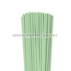 Hârtie quilling, Verde mediu, 5mm. (100 buc., 49cm)
