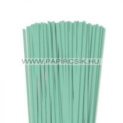 Hârtie quilling, Mentă, 6mm. (90 buc., 49cm)