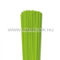 Hârtie quilling, Verde deschis, 4mm. (110 buc., 49cm)