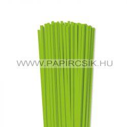 Hârtie quilling, Verde deschis, 5mm. (100 buc., 49cm)