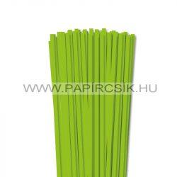 Hârtie quilling, Verde deschis, 6mm. (90 buc., 49cm)