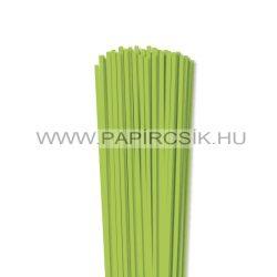Hârtie quilling, Verde de primăvară, 4mm. (110 buc., 49cm)