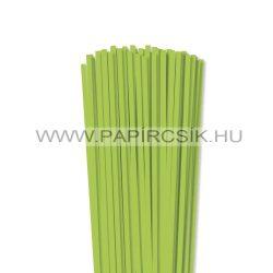 Hârtie quilling, Verde de primăvară, 5mm. (100 buc., 49cm)