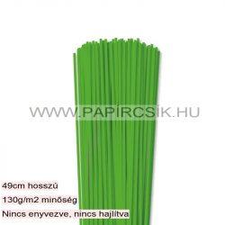 Hârtie quilling, Verde de iarbă, 3mm. (120 buc., 49cm)