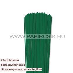 Hârtie quilling, Verde închis, 3mm. (120 buc., 49cm)
