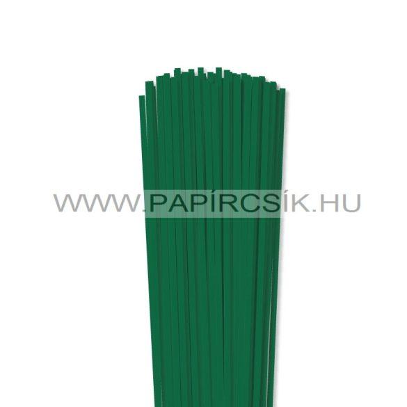 Hârtie quilling, Verde închis, 4mm. (110 buc., 49cm)