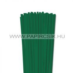 Hârtie quilling, Verde închis, 6mm. (90 buc., 49cm)