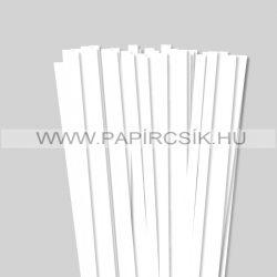 Hârtie quilling, Alb pur, 10 mm. (50 buc., 49 cm)