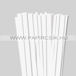 Hârtie quilling, Alb perlat, 10mm. (50 buc., 49cm)