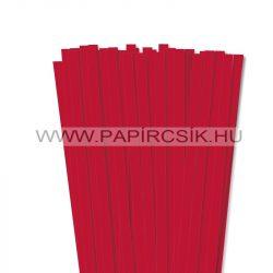 Hârtie quilling, Roșu vibrant, 10mm. (50 buc., 49cm)