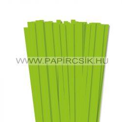 Hârtie quilling, Verde deschis, 10mm. (50 buc., 49cm)