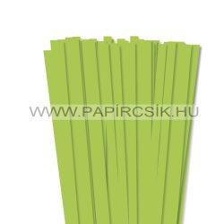 Hârtie quilling, Verde de primăvară, 10mm. (50 buc., 49cm)