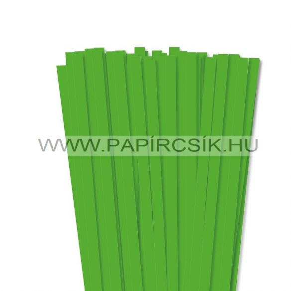 Hârtie quilling, Verde de iarbă, 10mm. (50 buc., 49cm)