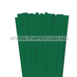 Hârtie quilling, Verde închis, 10mm. (50 buc., 49cm)