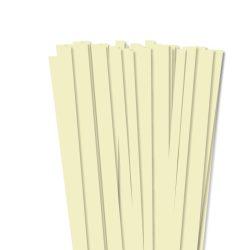 Hârtie quilling, Vanilie, 10mm. (50 buc., 49cm)