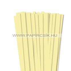 Hârtie quilling, Galben pal, 10mm. (50 buc., 49cm)