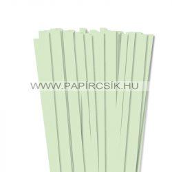 Hârtie quilling, Verde pal, 10mm. (50 buc., 49cm)