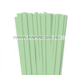 Hârtie quilling, Verde mediu, 10mm. (50 buc., 49cm)