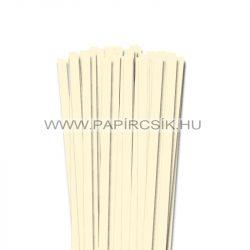 Hârtie quilling, Ivoriu, 10mm. (50 buc., 49cm)