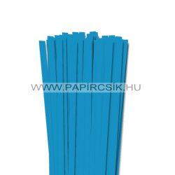 Hârtie quilling, Albastru Aqua, 10mm. (50 buc., 49cm)
