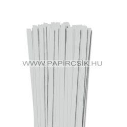 Hârtie quilling, Gri deschis, 10mm. (50 buc., 49cm)